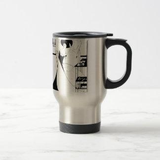 Aubrey Beardsley Salome Illustration Coffee Mugs