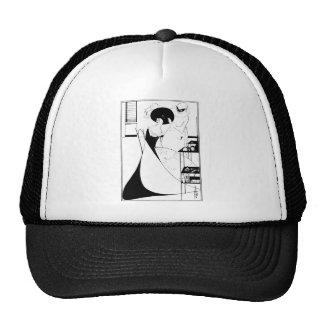 Aubrey Beardsley Salome Illustration Trucker Hat