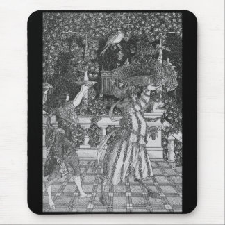 "Aubrey Beardsley. ""Servant to carry the fruit "" Mouse Pad"
