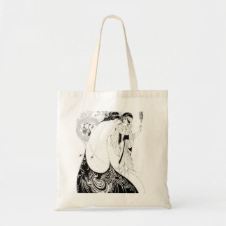 Aubrey Beardsley The Peacock Skirt Tote Bag