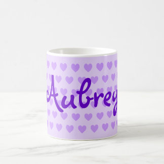 Aubrey in Purple Coffee Mug