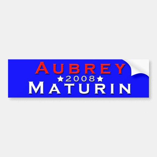 Aubrey/Maturin 2008 Etiqueta De Parachoque