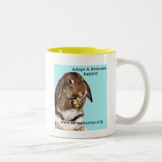 Aubrey Says... Two-Tone Coffee Mug