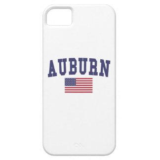 Auburn AL US Flag iPhone SE/5/5s Case