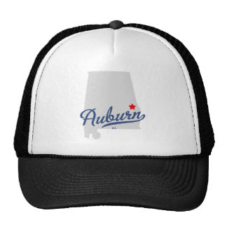 Auburn Alabama AL Shirt Trucker Hat