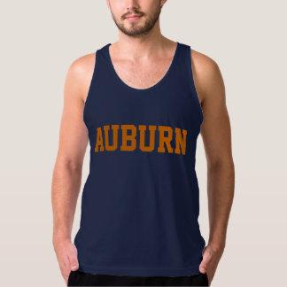 Auburn beach tank top