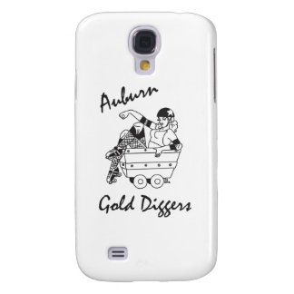 Auburn Gold Diggers Black and White Logo Galaxy S4 Cover