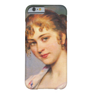 Auburn Hair 1880 Barely There iPhone 6 Case