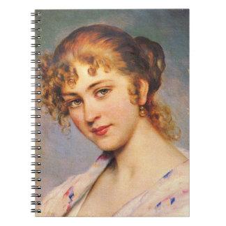 Auburn Hair 1880 Spiral Notebook