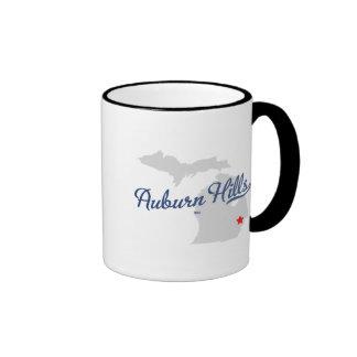 Auburn Hills Michigan MI Shirt Ringer Mug