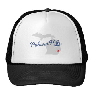 Auburn Hills Michigan MI Shirt Trucker Hat