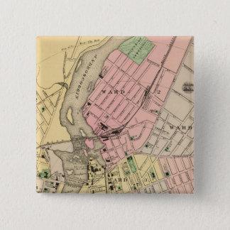 Auburn, Lewiston Pinback Button