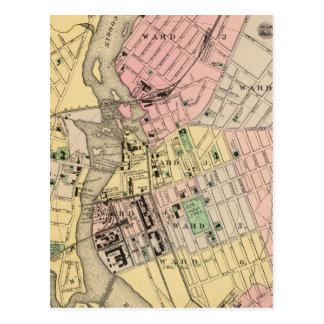 Auburn, Lewiston Postcard