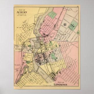 Auburn, Lewiston Poster