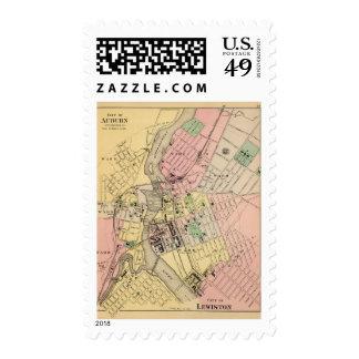 Auburn, Lewiston Stamp