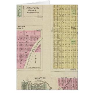 Auburn, Silver Lake, Kilmer, and Richland, Kansas Greeting Cards