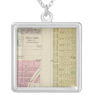 Auburn, Silver Lake, Kilmer, and Richland, Kansas Personalized Necklace