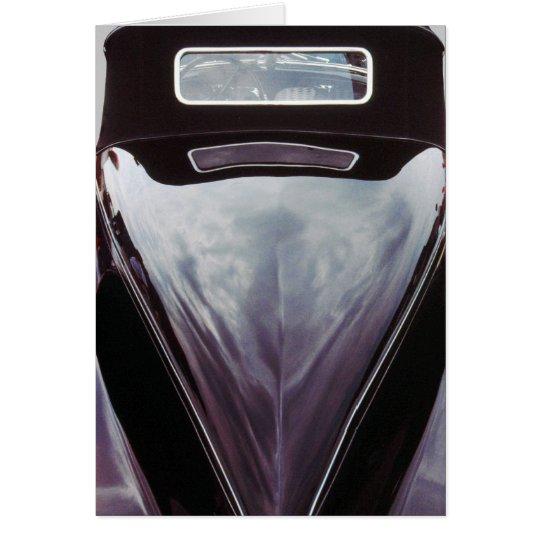 Auburn Speedster black boattail Card