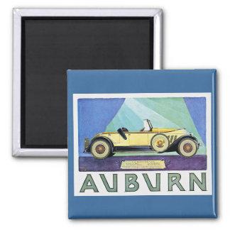 Auburn Vintage Auto Advertisement Magnet