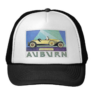 Auburn Vintage Auto Advertisement Trucker Hat