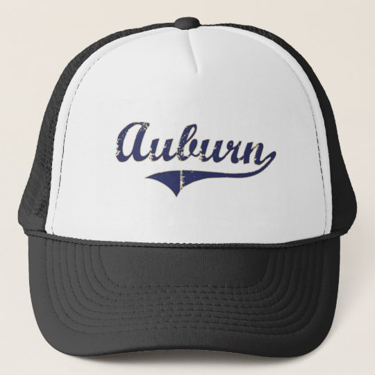 Auburn Washington Classic Design Trucker Hat