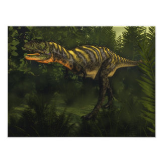 Aucasaurus dinosaur - 3D render Poster