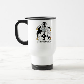 Auchinleck Family Crest Travel Mug