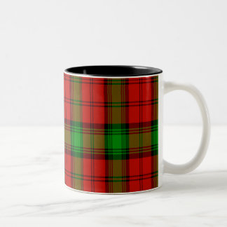 Auchinleck Scottish Tartan Two-Tone Coffee Mug