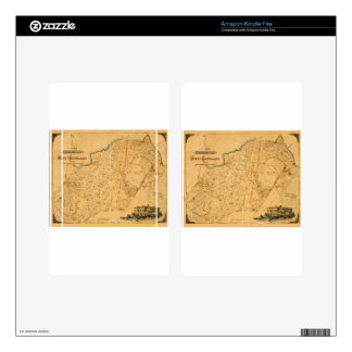 Auckland 1863 kindle fire decals