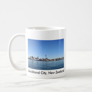 Auckland City, New Zealand Coffee Mug