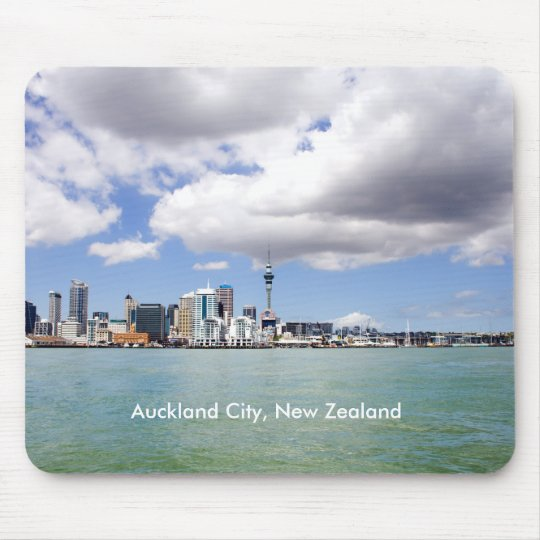 Auckland City, New Zealand Mouse Pad