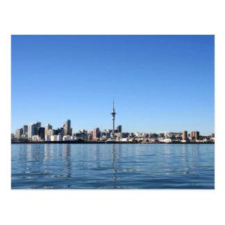 Auckland City, New Zealand Postcard