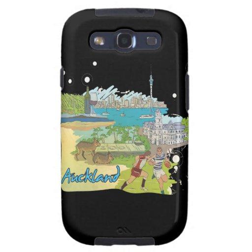 Auckland Galaxy S3 Fundas