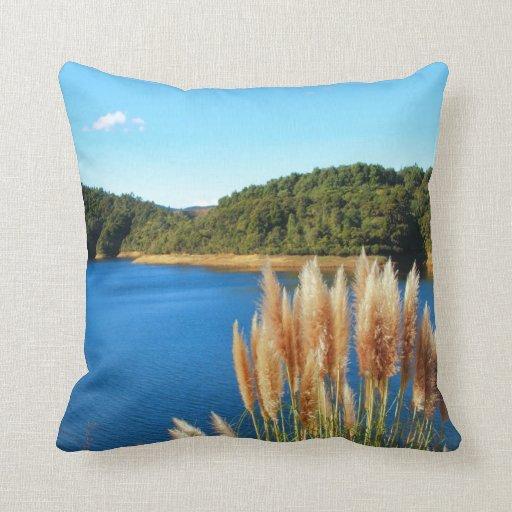 Auckland Hanua Ranges Throw Pillows