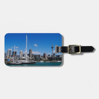 Auckland Harbour, New Zealand Bag Tag
