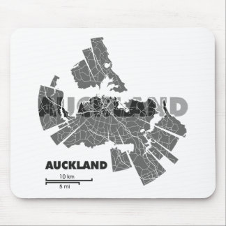 Auckland Map Mousepad