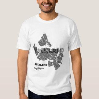 Auckland Map T-Shirt