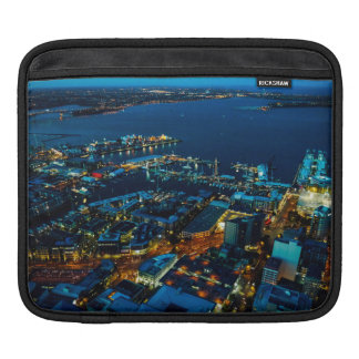 Auckland Marina view from the Sky Tower iPad Sleeve