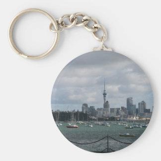 Auckland, New Zealand Key Chain