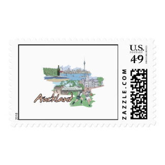 Auckland - New Zealand.png Stamps