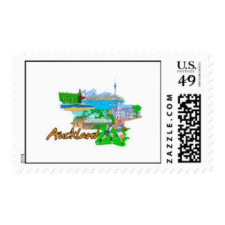 Auckland - New Zealand Stamp