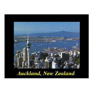 Auckland New Zealand postcard