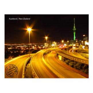 Auckland (New Zealand) postcard