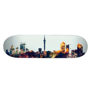 Auckland New Zealand Skyline Skateboard