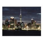 Auckland @ Night Post Card
