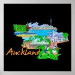 Auckland - Nueva Zelanda Impresiones