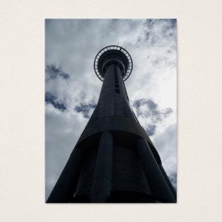 Auckland NZ Sky ACEO Business Card