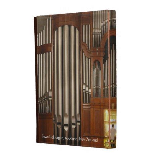 Auckland organ iPad folio case (captioned)