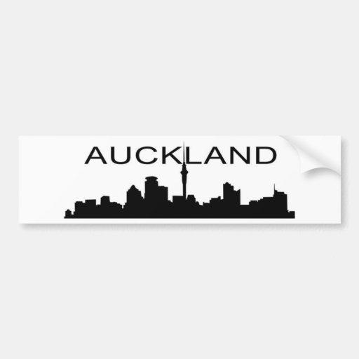 Auckland Pegatina Para Auto