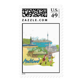Auckland Postage Stamp